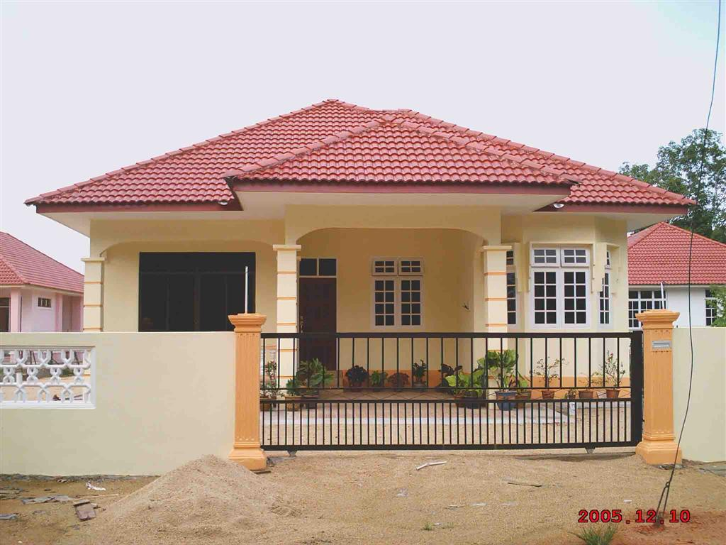 Contoh Gambar Rumah Sederhana  newhairstylesformen2014.com