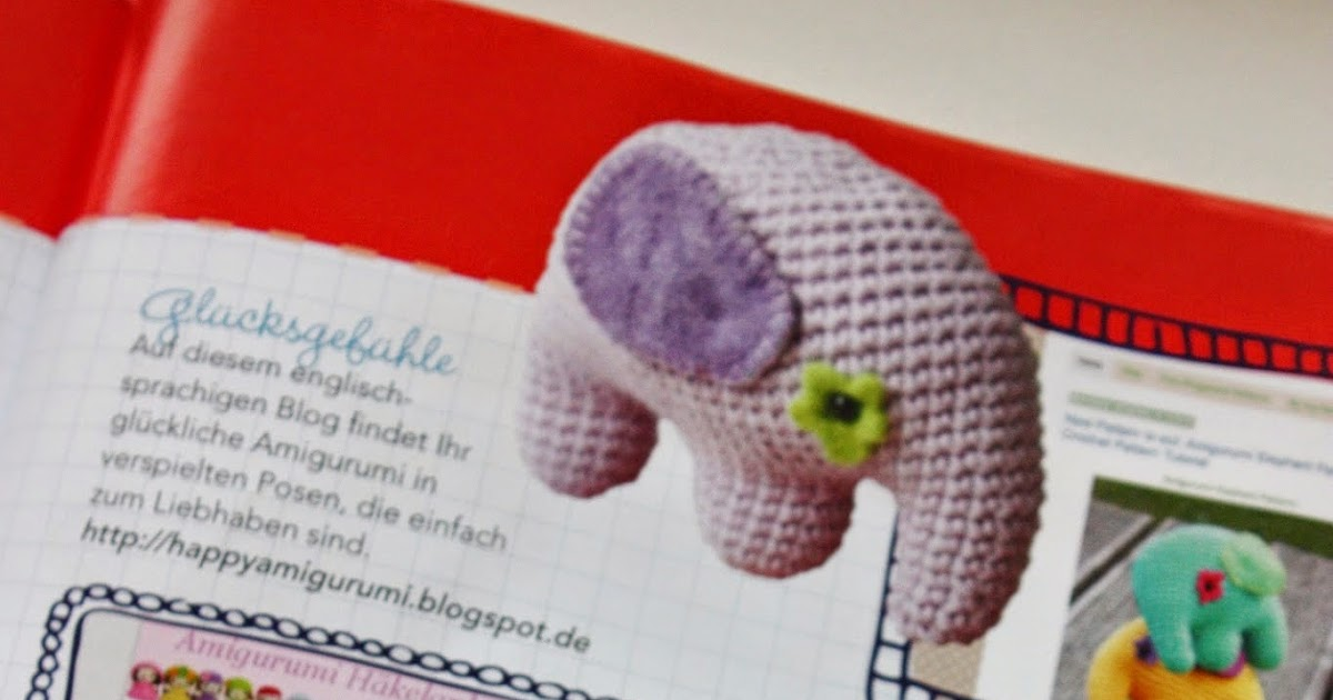 Amigurumi Crochet Magazine : Happyamigurumi: My Amigurumi blog in magazine