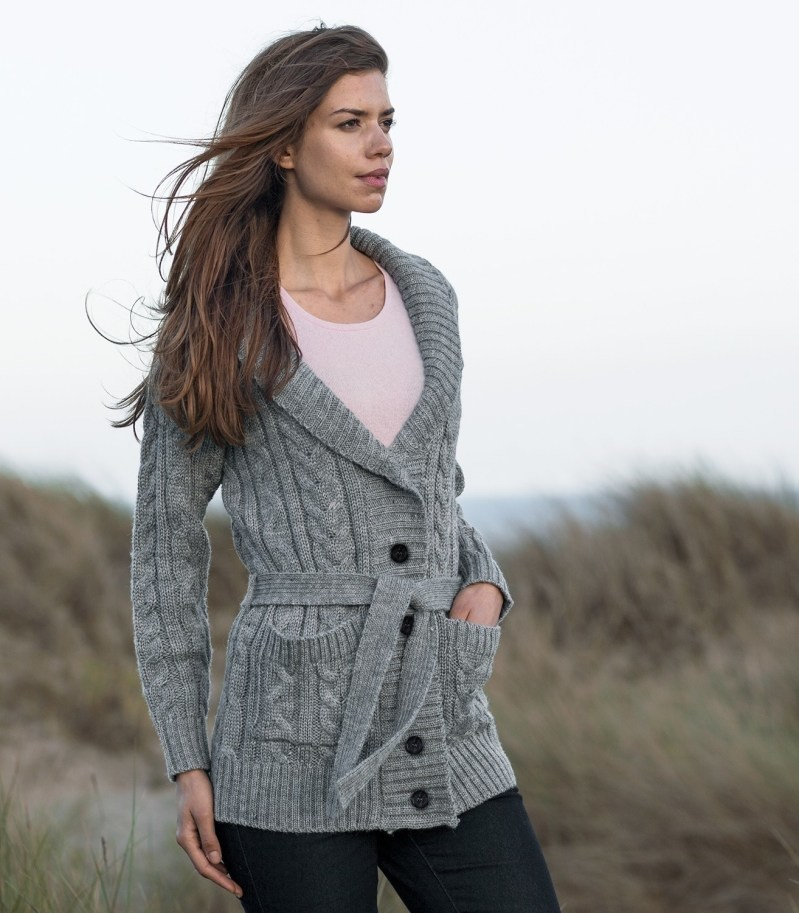 Wool Overs Chunky Knit Cardigan