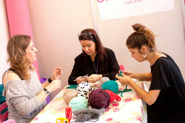 SWEET SIXTEEN CRAFT STORE EN CREATIVA MADRID 2013