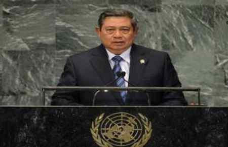 Presiden SBY di New York PBB