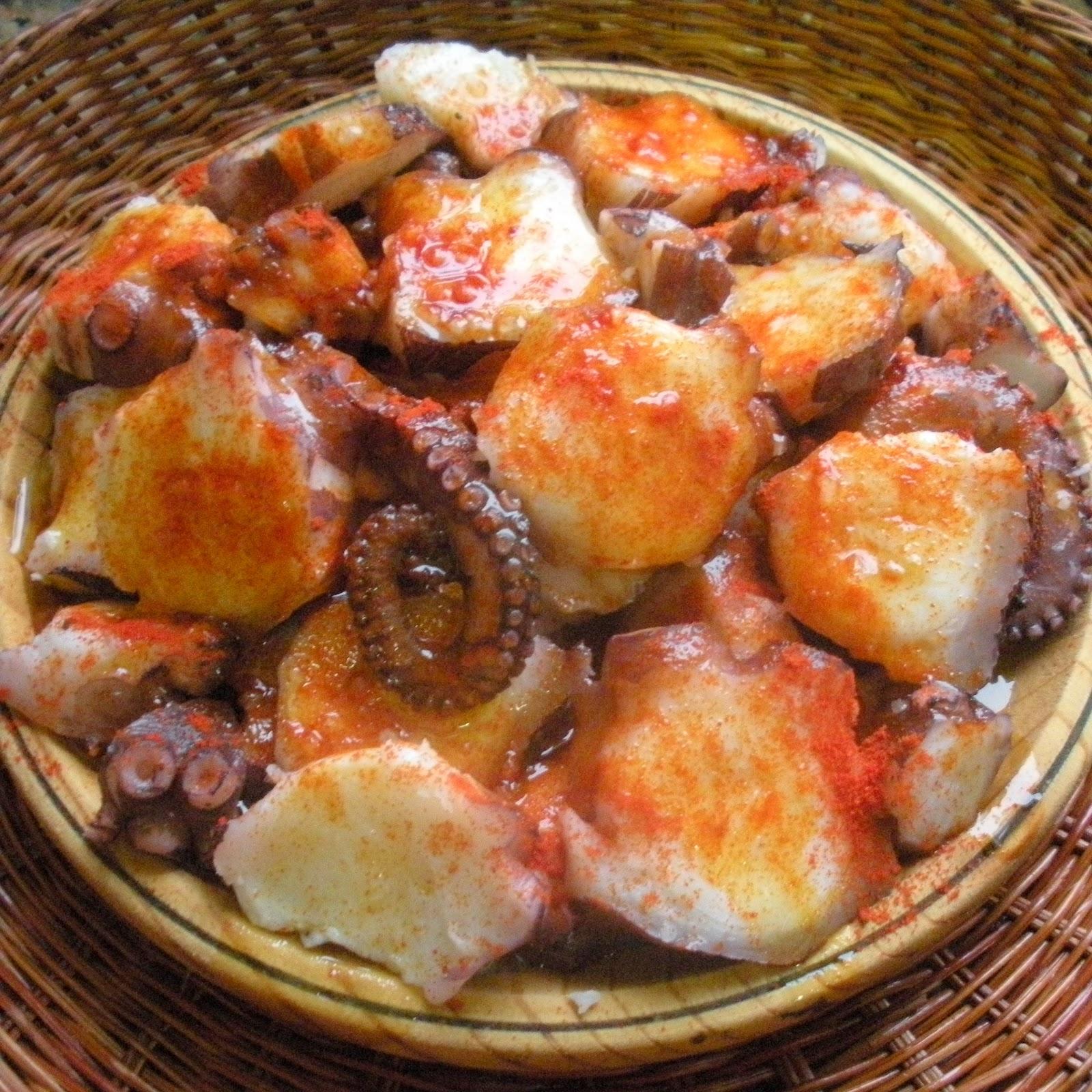 Aqu se cocina pulpo feira for Cocer pulpo congelado