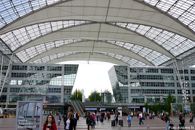 München, flygplats, airport munich, flughafen, terminal, flygterminal