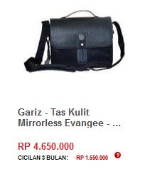 Gariz - Tas Kulit Mirrorless Evangee