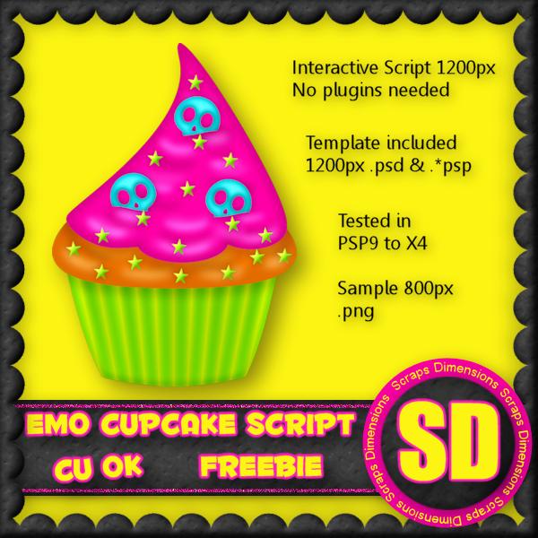 CU OK FREEBIE EMO CUPCAKE SCRIPT SD_CU+Emo+Cupcake+Preview