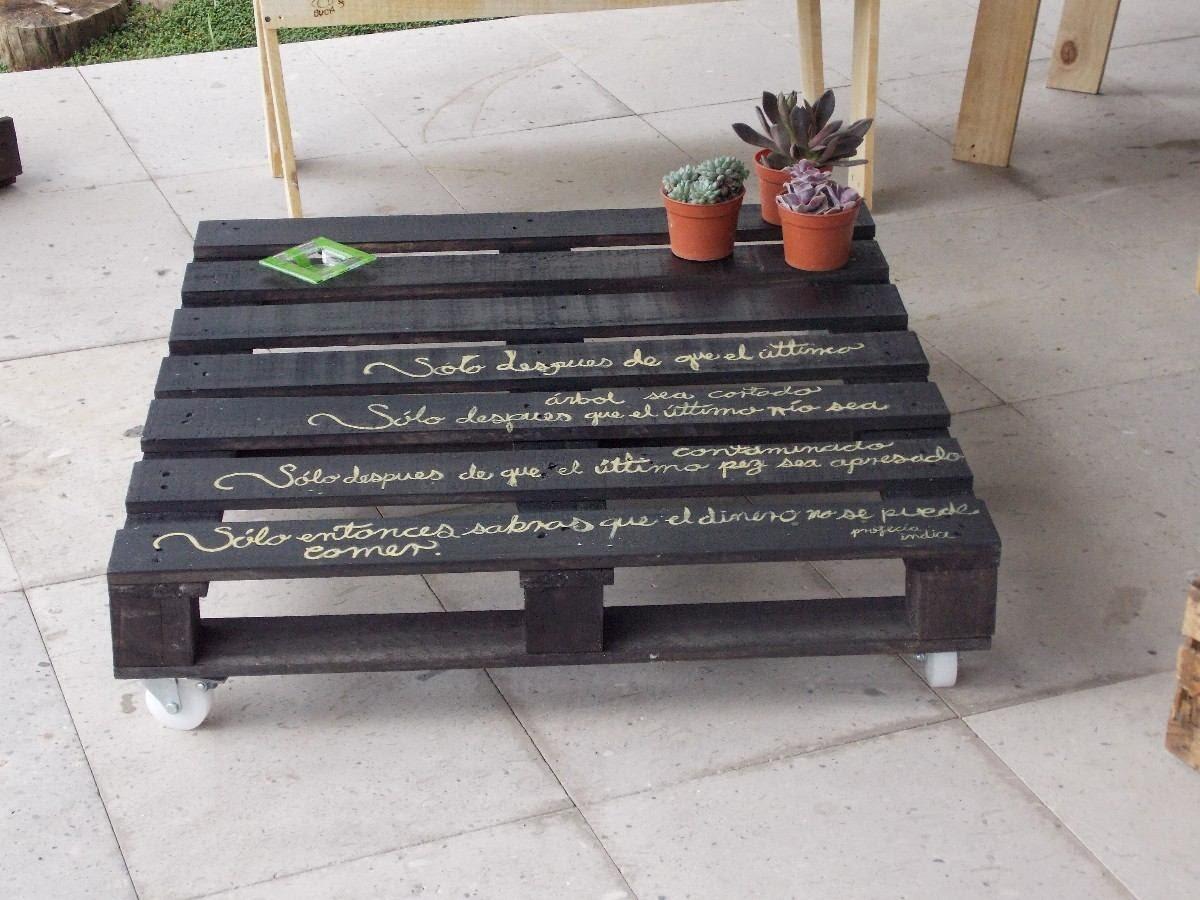 Mesas de Centro Recicladas