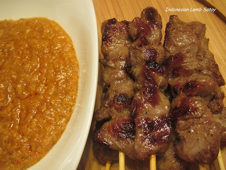 Indonesian lamb Satay