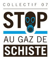 Non  l&#39;exploitation et  la recherche sur le gaz de schiste