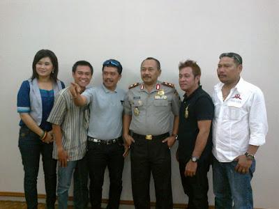 Bersama Kapolda Jatim Irjen Pol Untung S Rajab