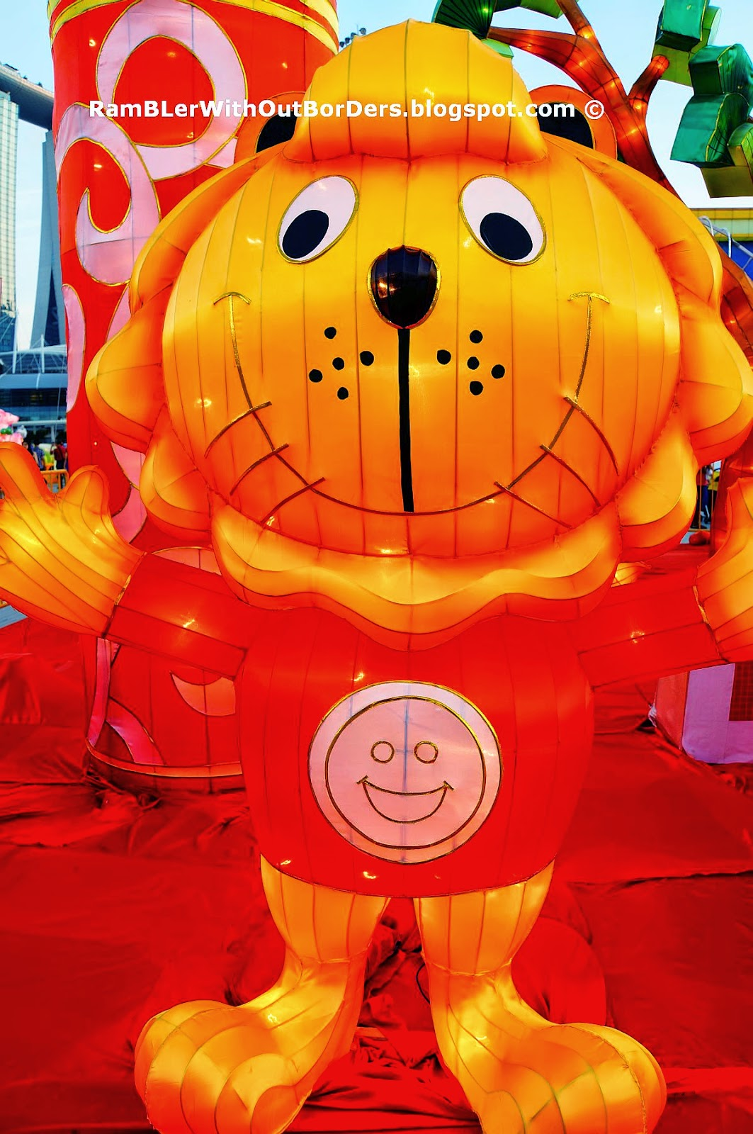Singa the Lion, River Hongbao 2015, Singapore
