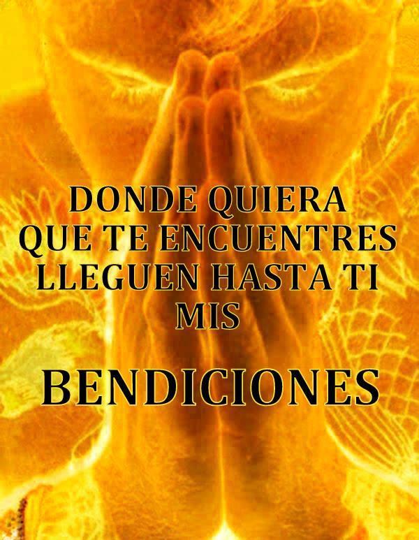 mis bendiciones