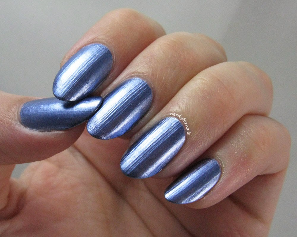 Sally Hansen Color Foil Leaden Lilac Swatch
