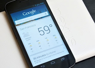 Google Now is the strategy to help Google compete with Apple's Siri on IOS.