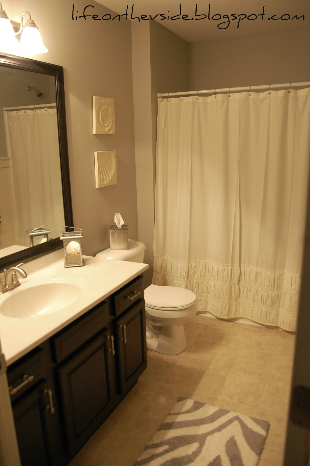 On the v side beachy bathroom updates - Picture of bathroom ...