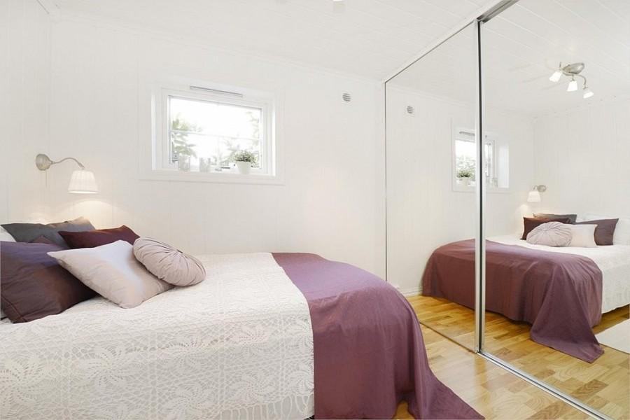 Inspira interiør: soverom fra en boligstyling