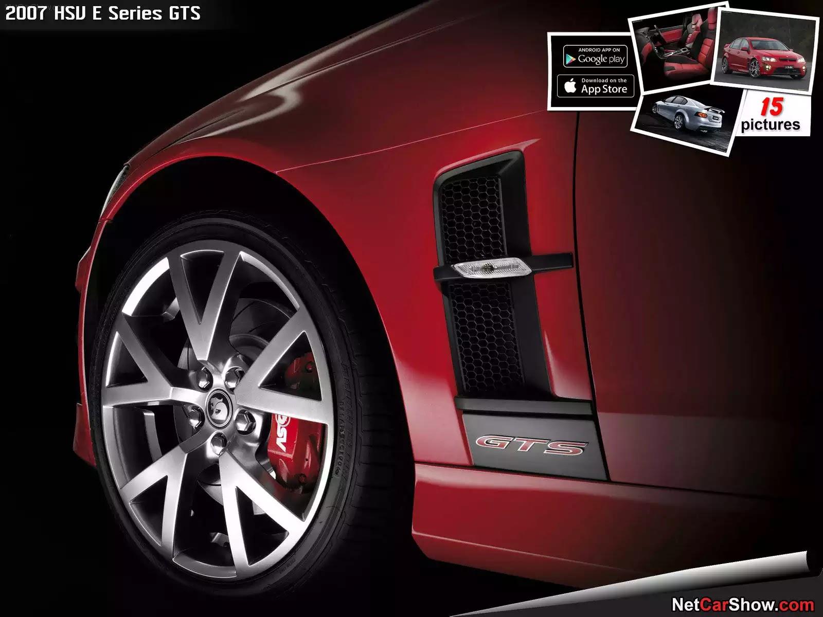 Hình ảnh xe ô tô HSV E Series GTS 2007 & nội ngoại thất