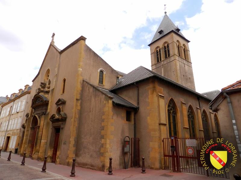 METZ (57) - Eglise Saint-Maximin