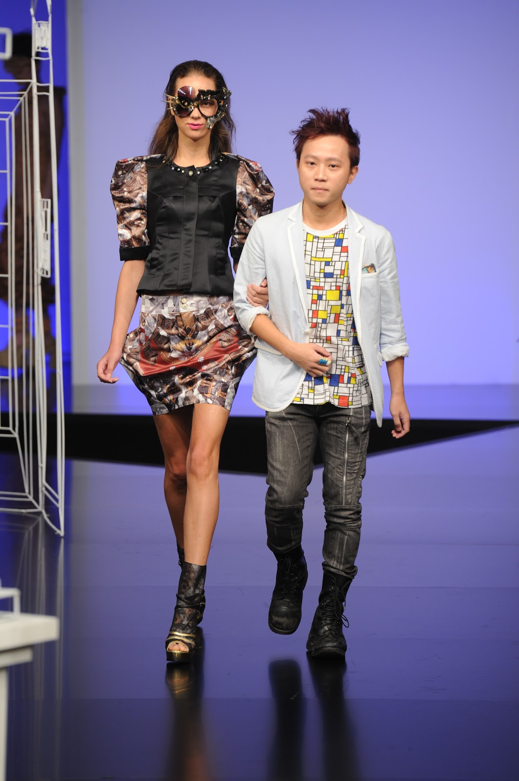 ... from the three most recent Hong Kong Young Fashion Designers' Contest ...
