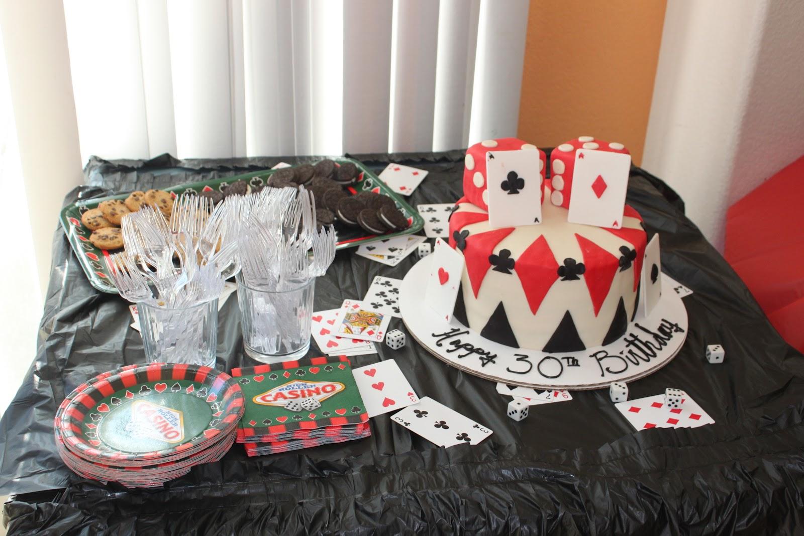Party supplies casino night