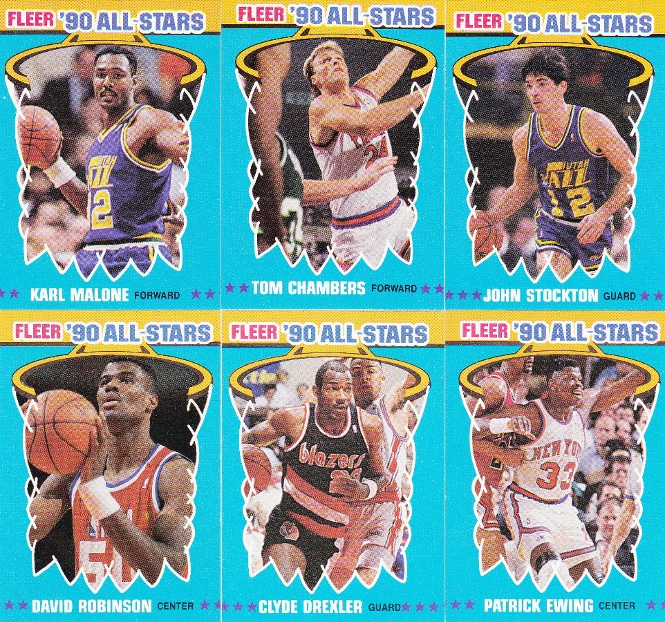 The Chronicles Of Fuji: Set Showcase #10: 90/91 Fleer All