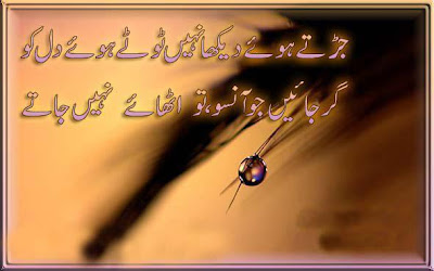 Urdu Aanso poetry