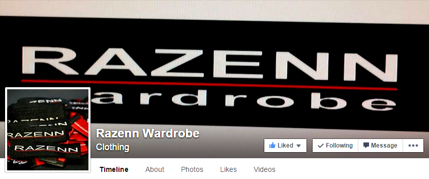 Razenn Wardrobe Fb Page