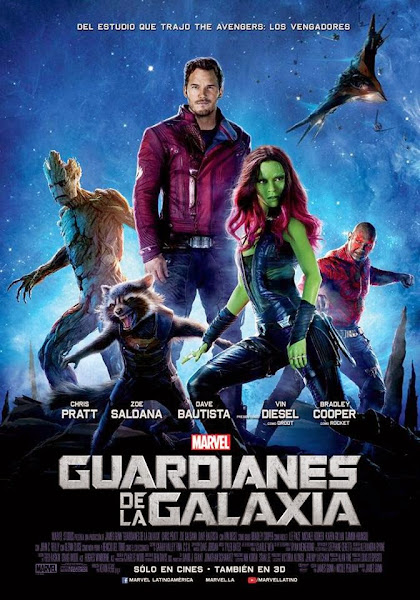 Guardians of the Galaxy - 2014 Movie Poster HD