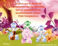 Frases Para Cumpleaños: Espero Que Tu Fiesta De Cumpleaños Sea Tan Divertida