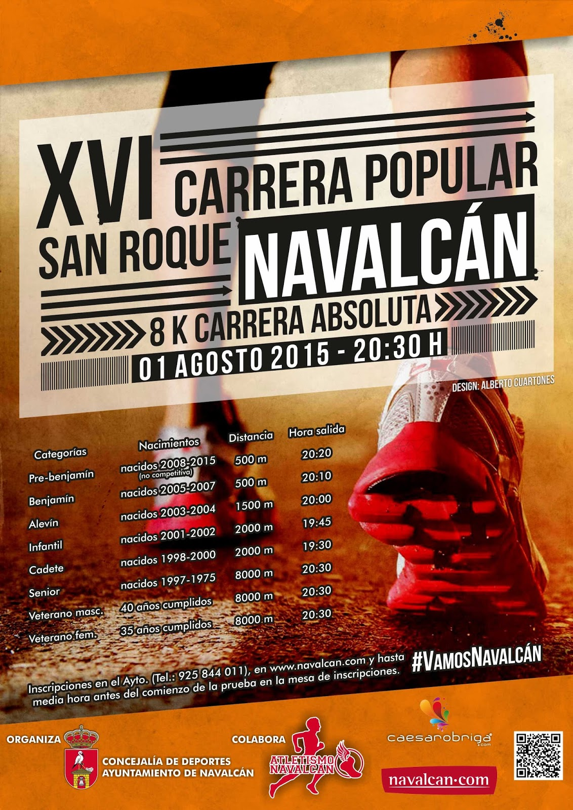 XVI Carrera Popular de San Roque en Navalcán