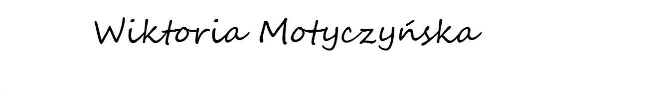 Wiktoria Motyczyńska