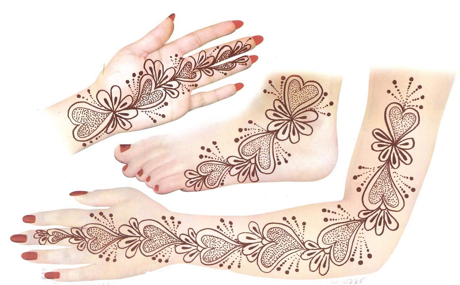 Latest Indian Sudani Pakistani Arabic Arabian Mehndi Designs