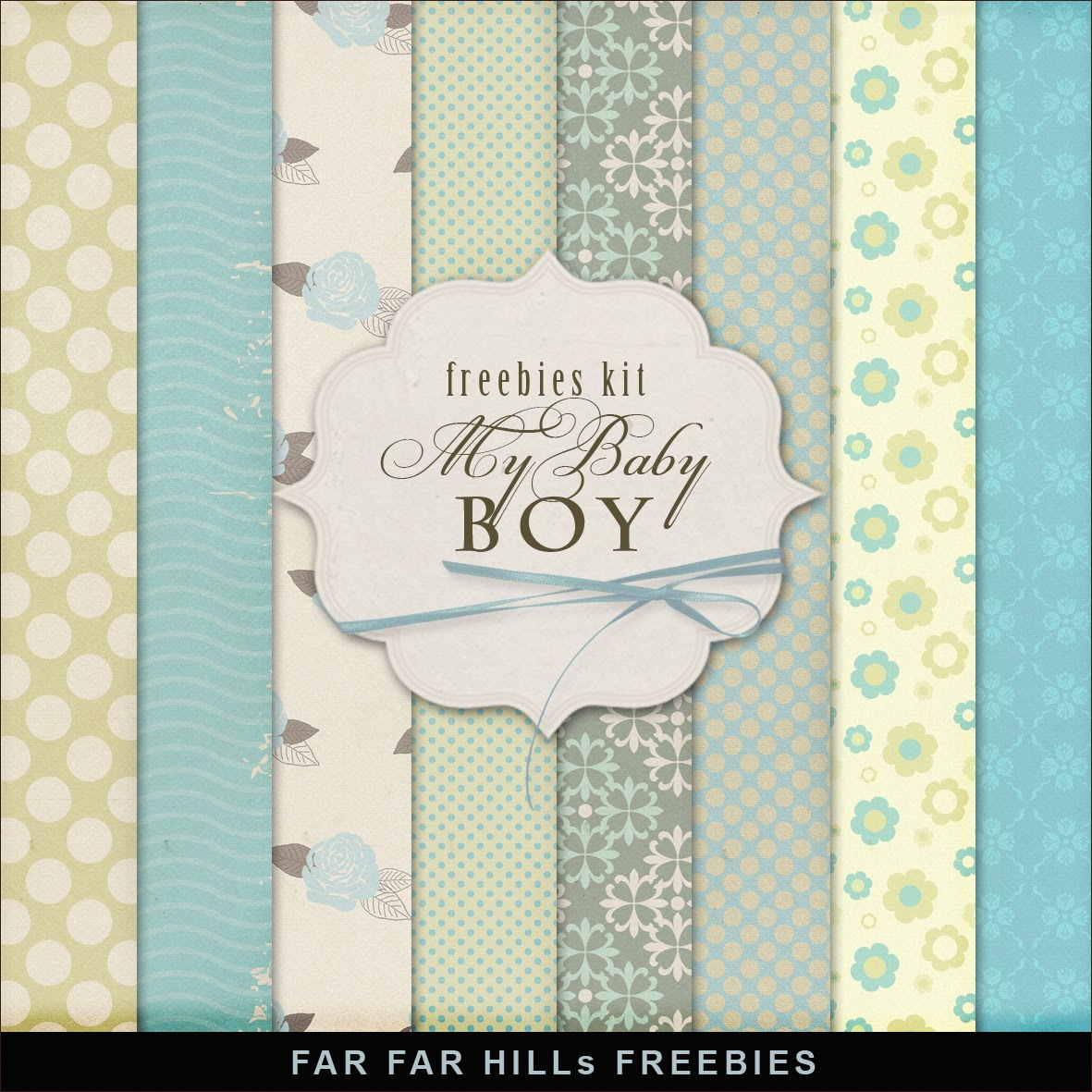 new freebies kit my baby boy far far hill free database of digital illustrations and papers. Black Bedroom Furniture Sets. Home Design Ideas
