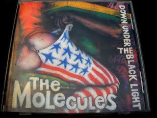 THE MOLECULES-DOWN UNDER THE BLACK LIGHT, CD, 1993, USA