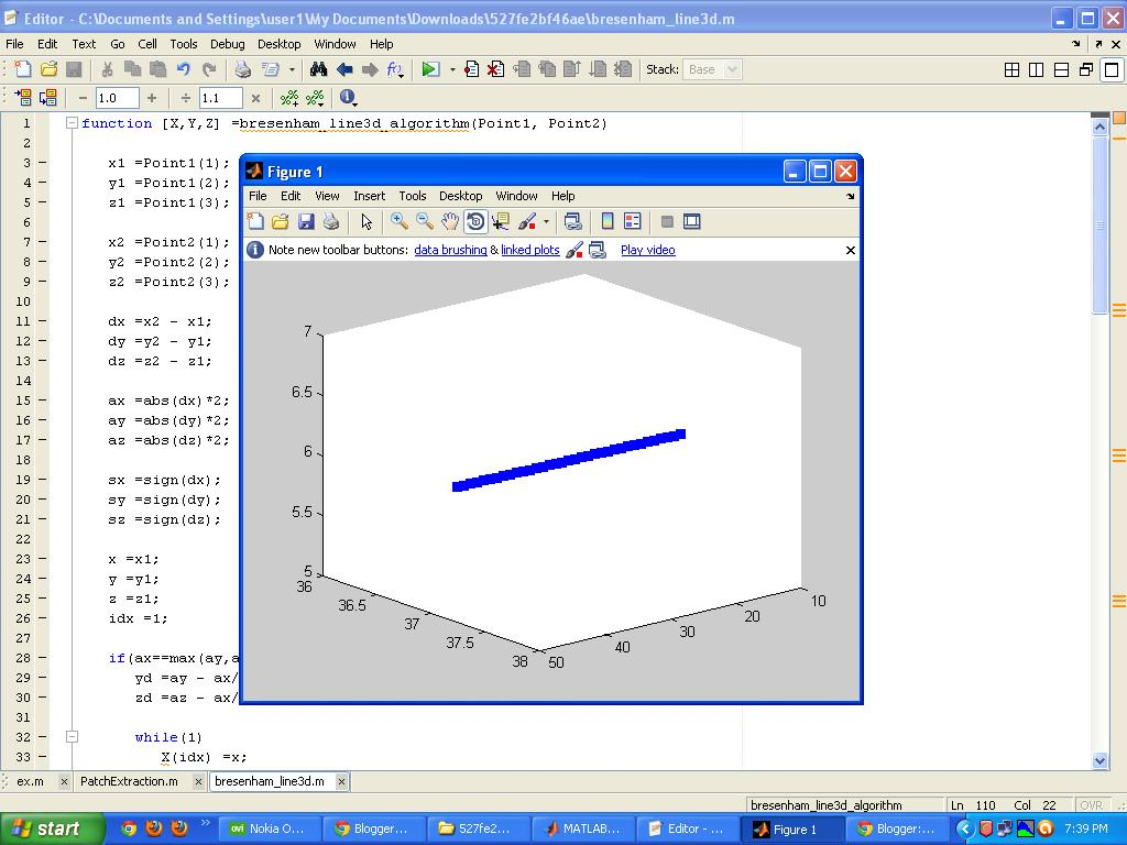 Line Drawing Algorithm Matlab : Programming tips bresenham d line drawing algorithm