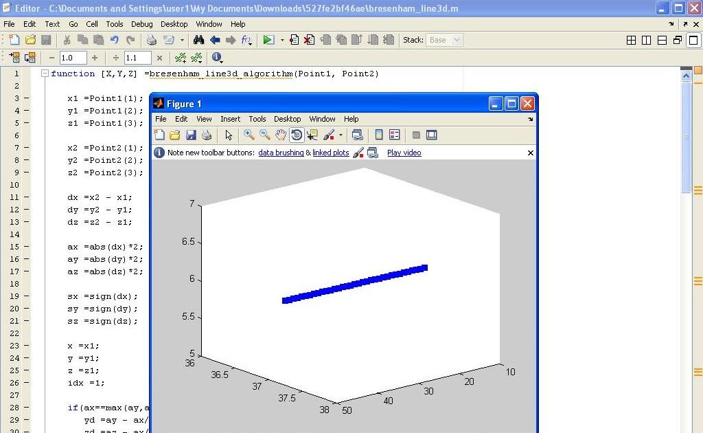 Bresenham Line Drawing Algorithm For M Greater Than 1 : Programming tips bresenham d line drawing algorithm