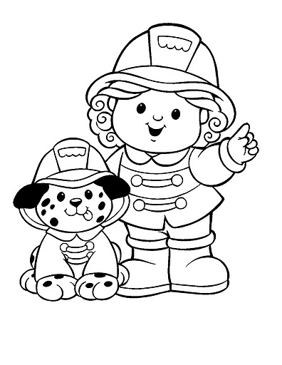 Dia do bombeiro desenhos atividades colorir pintar for Firefighter coloring pages