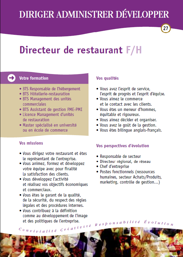 Cabinet fleur de lys recrutement - Cabinet recrutement hotellerie restauration ...