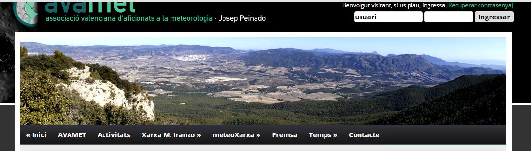 Resum meteorològic de l´any 2014. Treball de Juan Miguel Domenech..