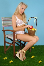 Happy Easter 2013 from Easter Chic Lucy Anne At PIN-UP WOW!