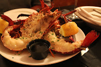 Pan-roasted lobster at Mahoney's, Orleans, Mass.