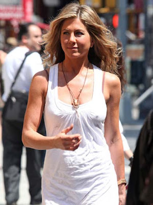 Jennifer Aniston Gemstone Pendant