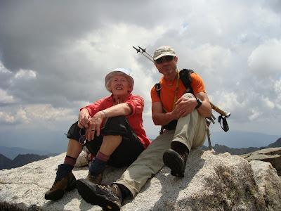 Cumbre del Peguera (Aigüestortes y Sant Maurici).