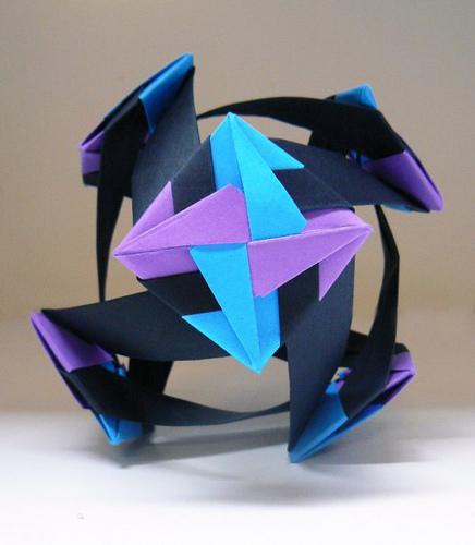 Origami maniacs origami santiago flower ball by mette pederson origami santiago flower ball by mette pederson mightylinksfo