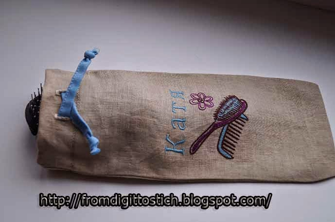 текстильный мешочек