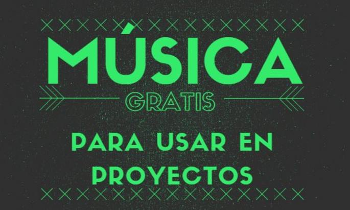 Música libre para usar en Proxectos