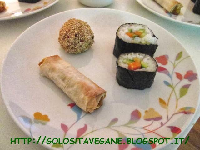 aglio, Antipasti, carote, Finger Food, involtini, menta, pasta fillo, ricette vegan, vapore,
