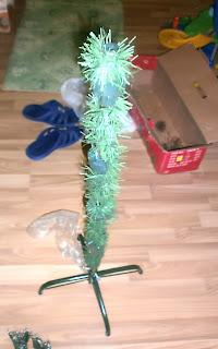Ствол новогодней ёлки