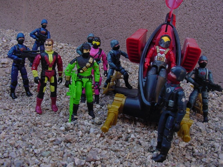 1993 Firefly, 1993 Create a Cobra Mail Away, Night Watch Trooper, Officer, 2005, 1988 Astro Viper, AGP Pod