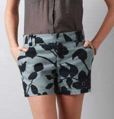Summer Jungle Flower Shorts