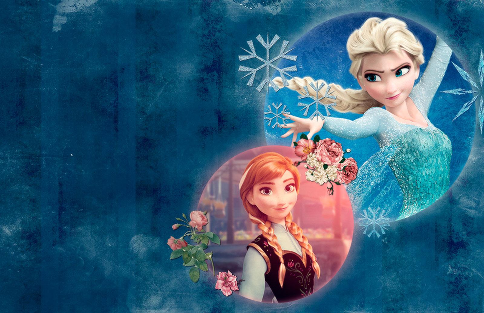 Tarjeta de Navidad de la Película Frozen